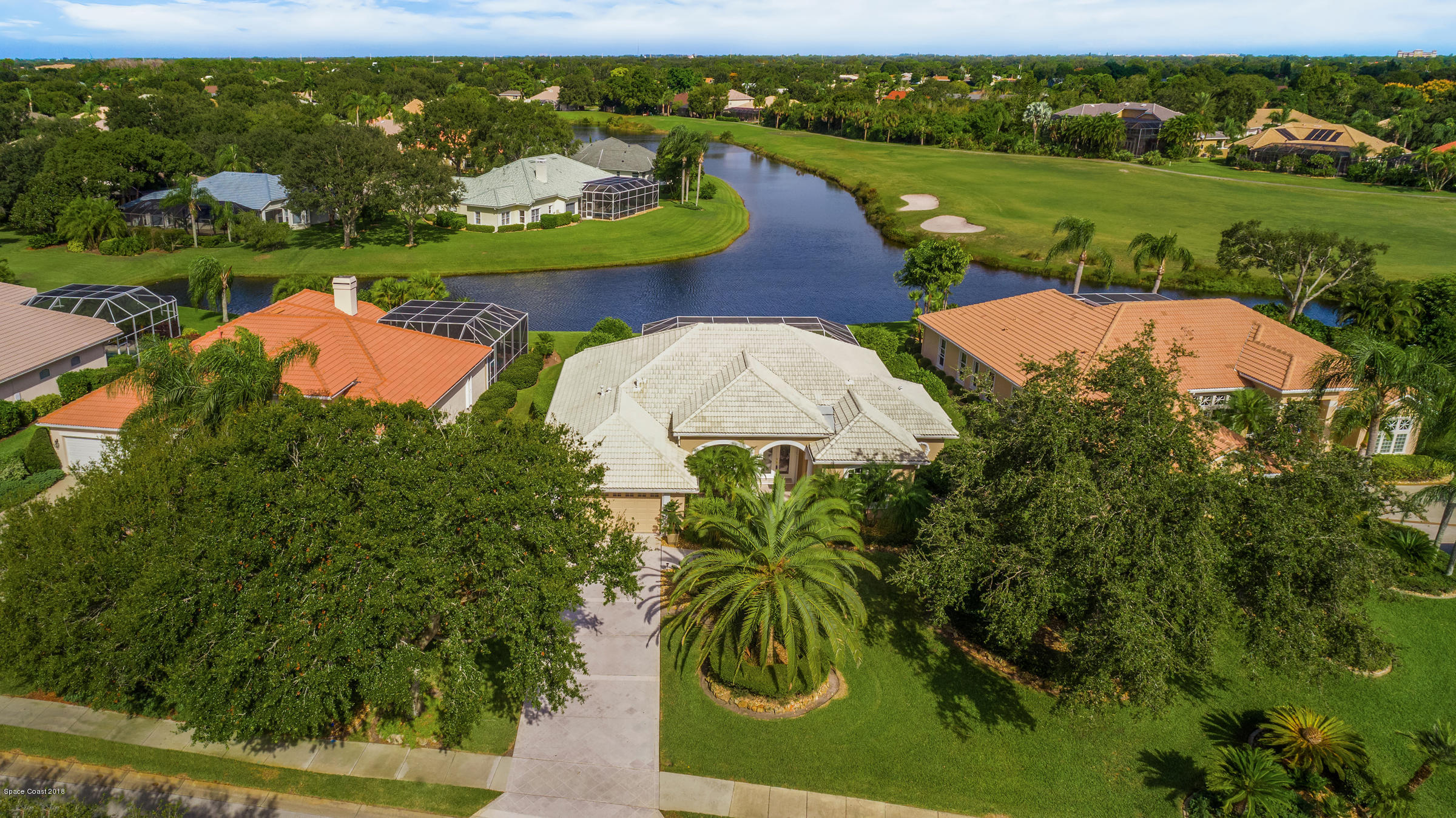 Single Family Home for Sale at 495 Baytree 495 Baytree Melbourne, Florida 32940 United States