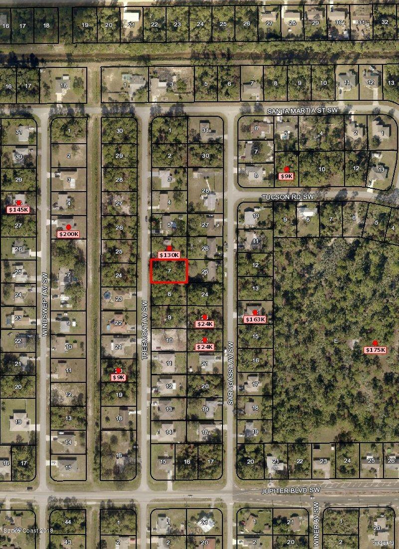 Land for Sale at 443 Treemont 443 Treemont Palm Bay, Florida 32908 United States