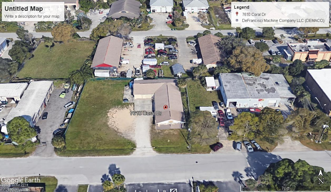 Commercial for Sale at 7610 Coral Drive 7610 Coral Drive West Melbourne, Florida 32904 United States