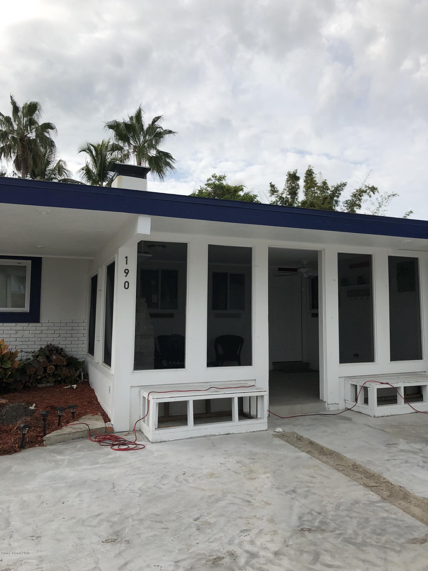 Nhà ở một gia đình vì Thuê tại 190 Antigua 190 Antigua Cocoa Beach, Florida 32931 Hoa Kỳ