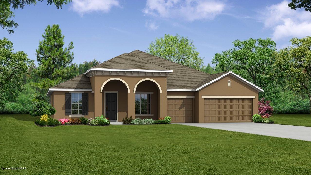 Enfamiljshus för Försäljning vid 3440 Bryce 3440 Bryce Cocoa, Florida 32926 Förenta staterna