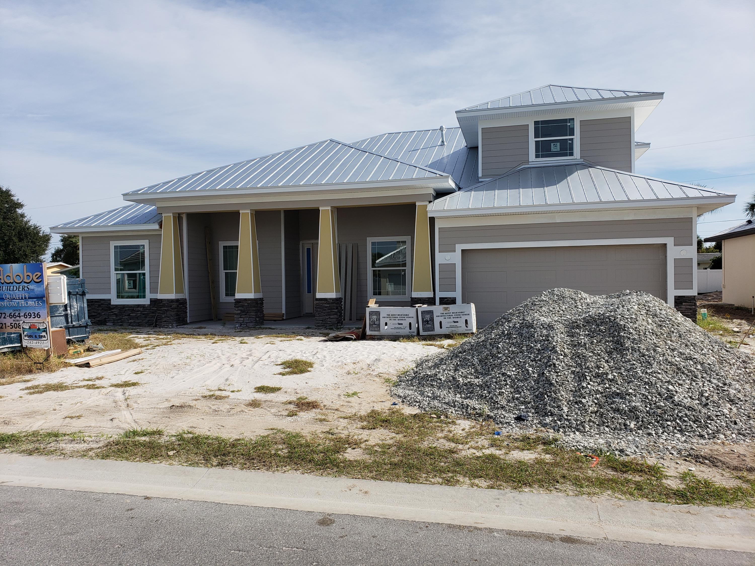 Single Family Home for Sale at 125 Enclave 125 Enclave Indian Harbour Beach, Florida 32937 United States