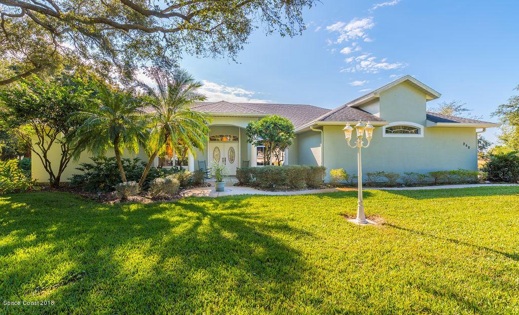 Enfamiljshus för Försäljning vid 245 City Point 245 City Point Cocoa, Florida 32926 Förenta staterna