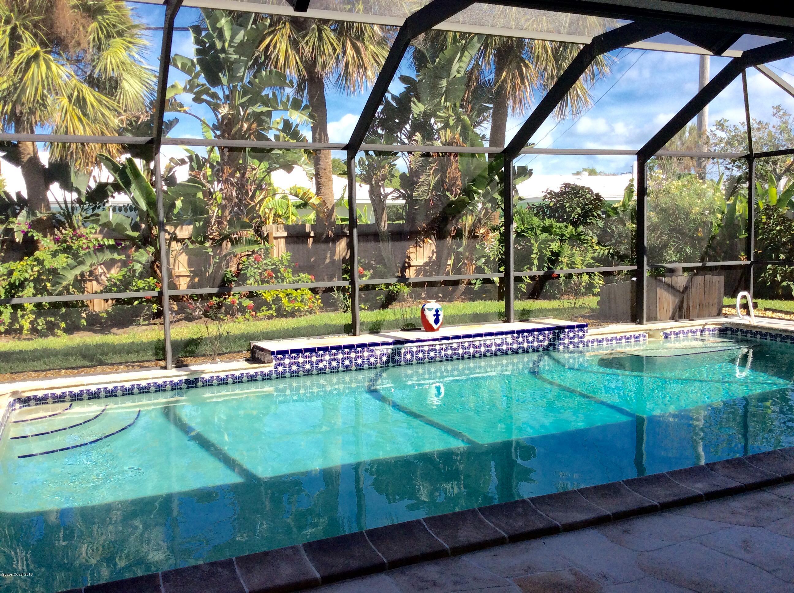 Einfamilienhaus für Mieten beim 590 Teakwood 590 Teakwood Satellite Beach, Florida 32937 Vereinigte Staaten