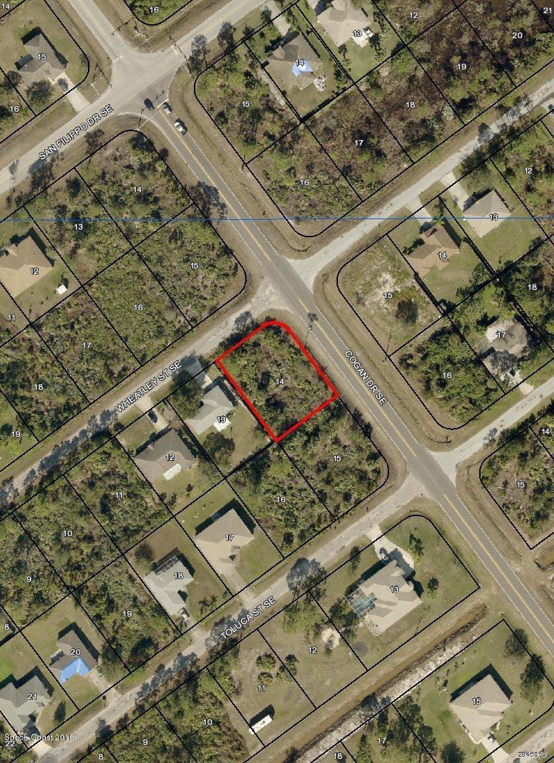 Land for Sale at Corner Wheatley St Cogan Dr Se Palm Bay, Florida 32909 United States