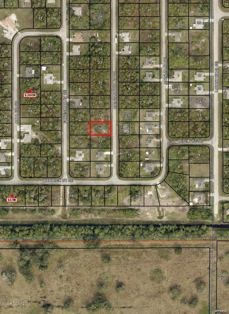 Land for Sale at 3274 Hainsworth 3274 Hainsworth Palm Bay, Florida 32909 United States