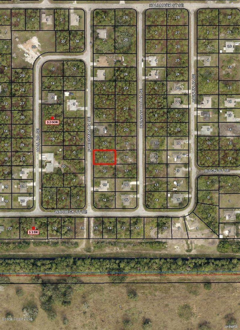 Land for Sale at 3275 Foresman 3275 Foresman Palm Bay, Florida 32909 United States