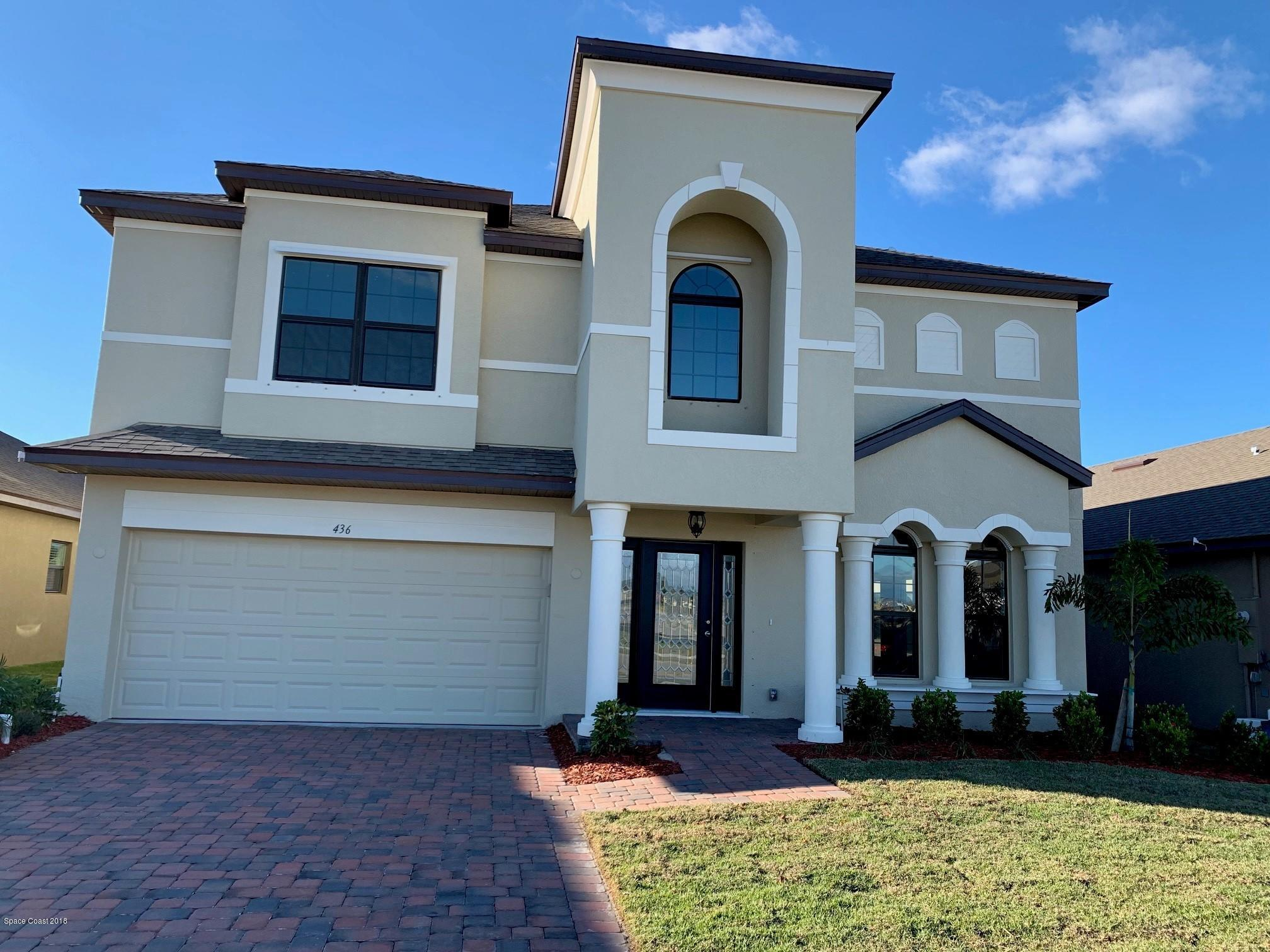 獨棟家庭住宅 為 出售 在 436 Horsemint 436 Horsemint West Melbourne, 佛羅里達州 32904 美國