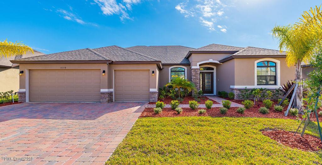 獨棟家庭住宅 為 出售 在 3170 Watergrass 3170 Watergrass West Melbourne, 佛羅里達州 32904 美國