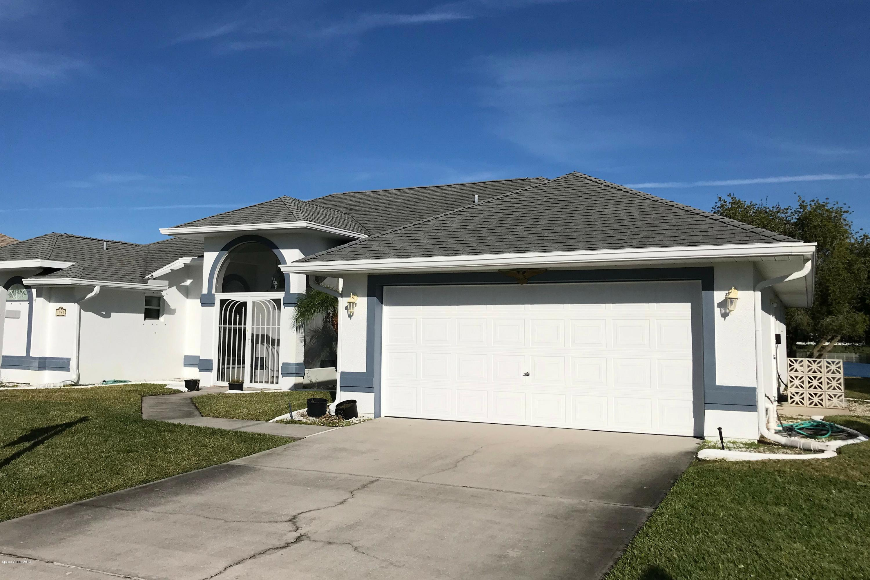 Single Family Home for Sale at 1941 Jacques 1941 Jacques Melbourne, Florida 32940 United States