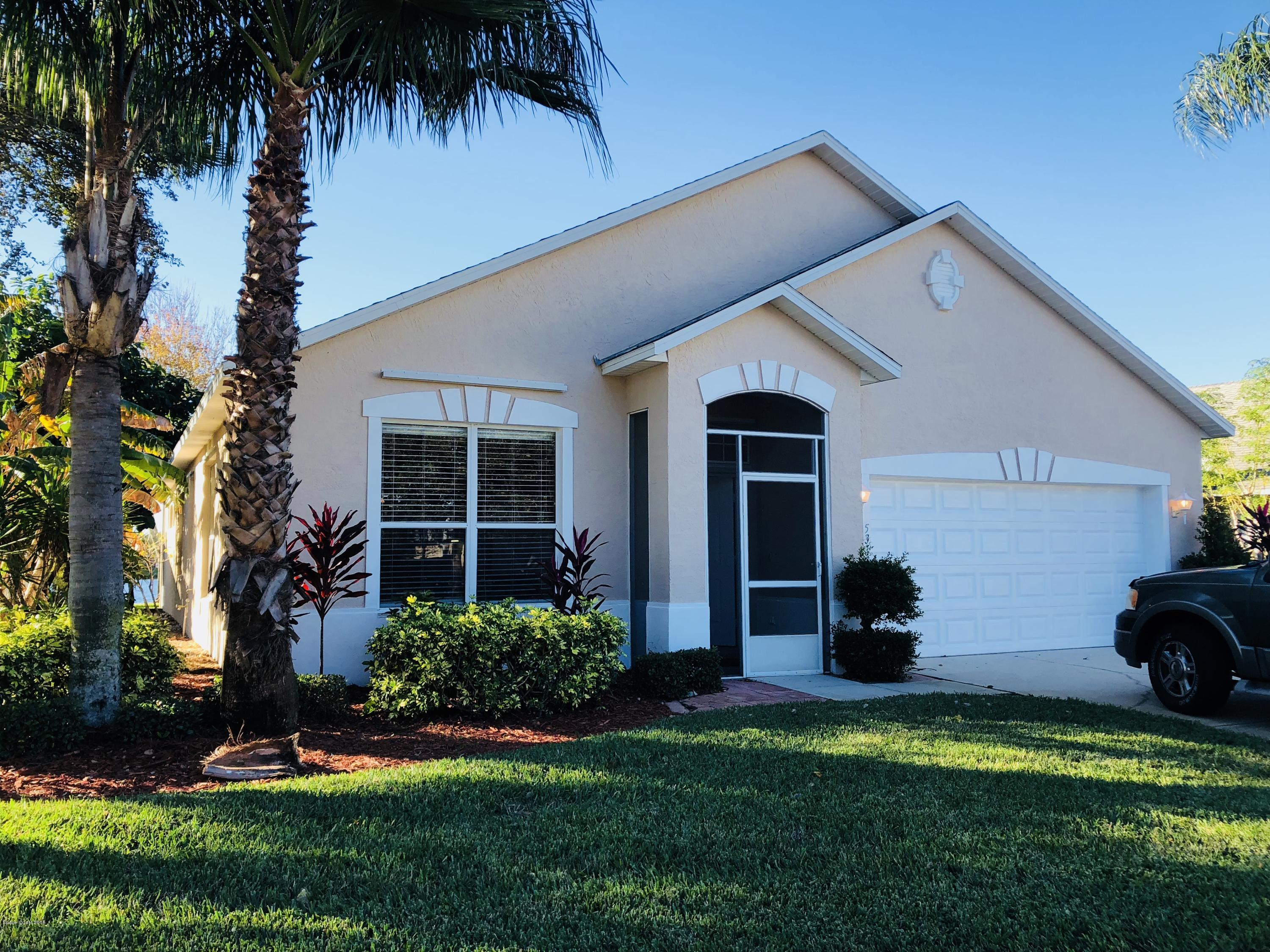 Single Family Homes for Sale at 5313 Outlook Melbourne, Florida 32940 United States