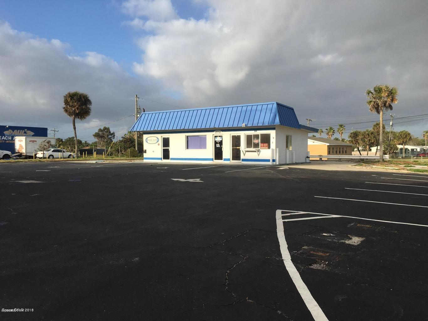 Commercial for Sale at 272 Highway A1a 272 Highway A1a Satellite Beach, Florida 32937 United States