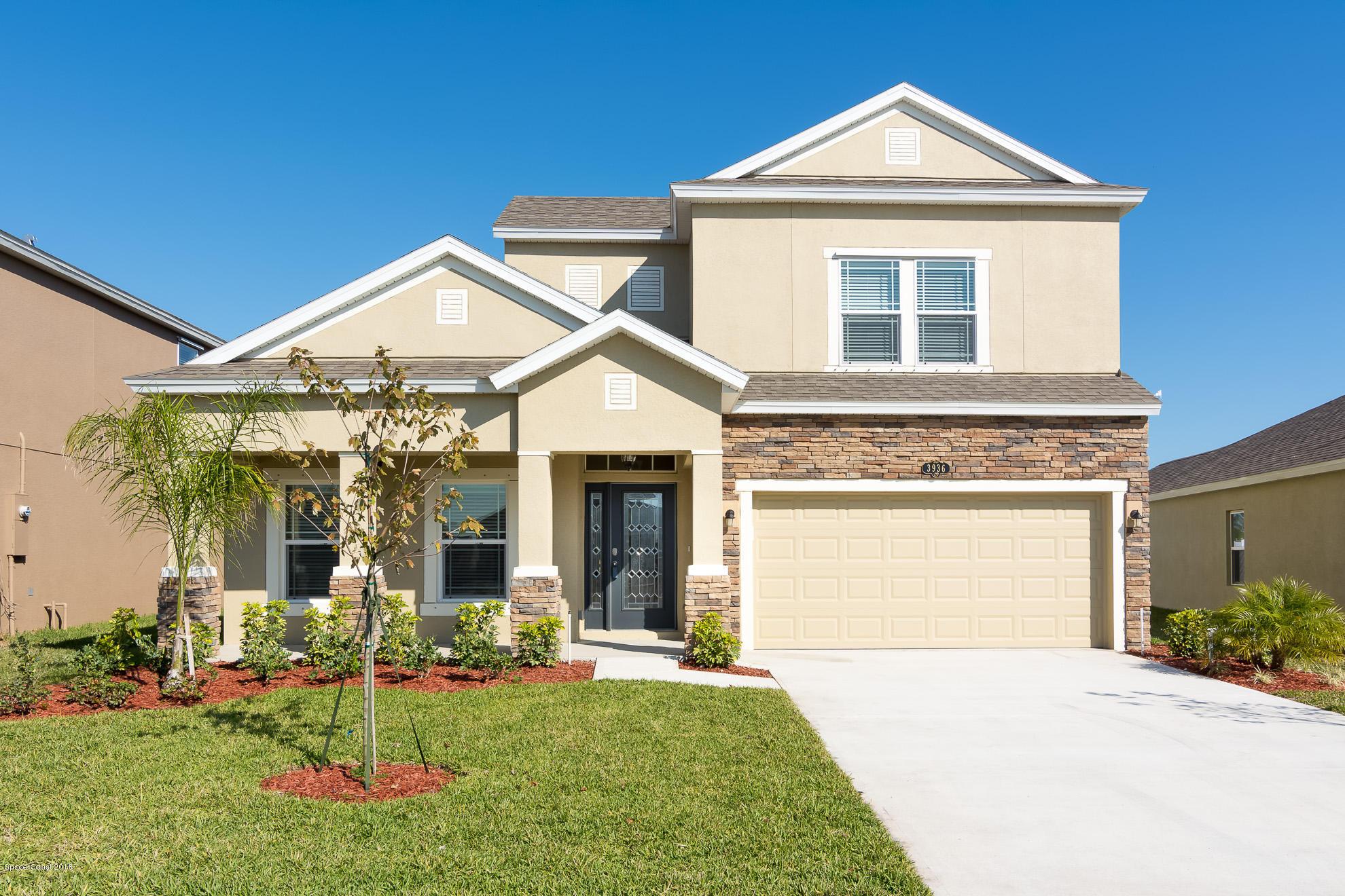 獨棟家庭住宅 為 出售 在 3936 Milner 3936 Milner West Melbourne, 佛羅里達州 32904 美國