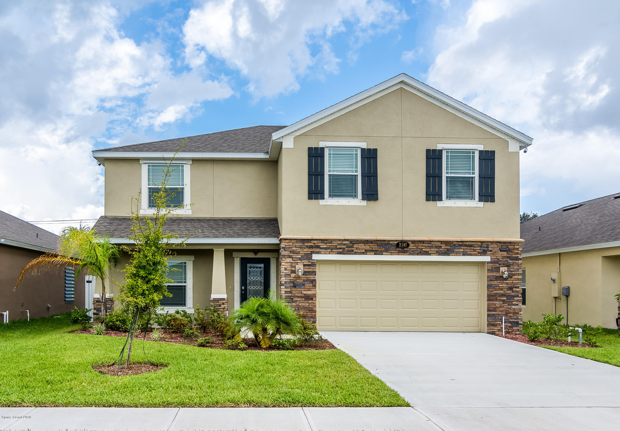 Single Family Homes for Sale at 2107 Attilburgh West Melbourne, Florida 32904 United States