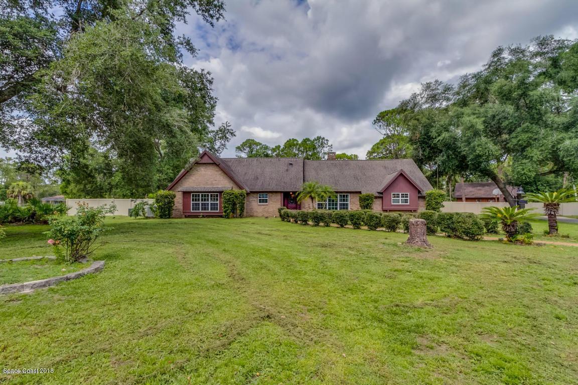 Enfamiljshus för Försäljning vid 2665 Wagon 2665 Wagon Cocoa, Florida 32926 Förenta staterna