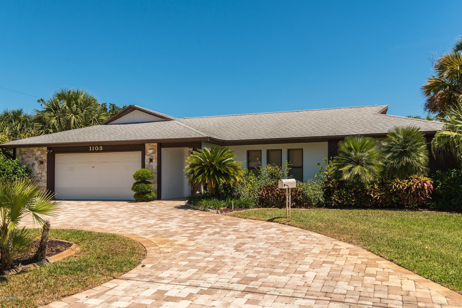 Einfamilienhaus für Mieten beim 1103 Orange 1103 Orange Melbourne Beach, Florida 32951 Vereinigte Staaten