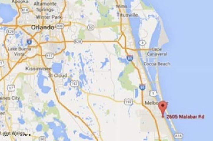 Commercial for Sale at 2605 Malabar Road 2605 Malabar Road Malabar, Florida 32950 United States