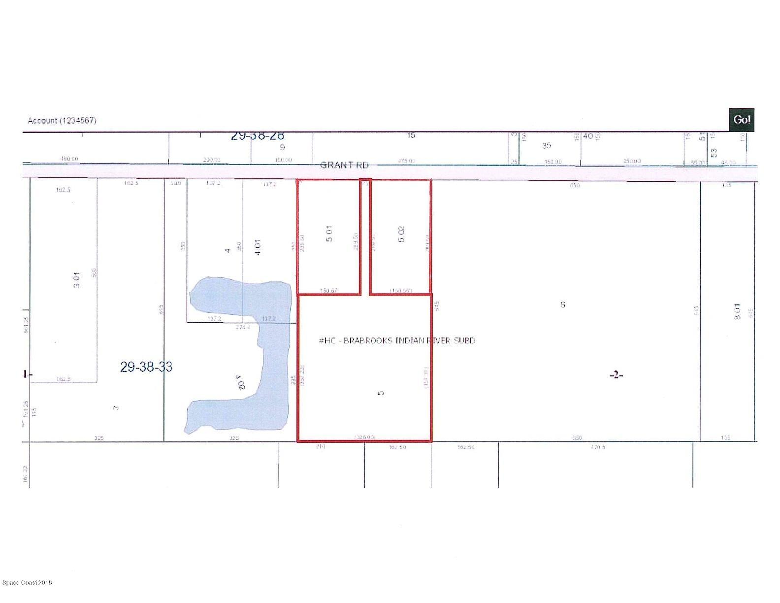 Land for Sale at 4565 Grant Road 4565 Grant Road Grant, Florida 32949 United States
