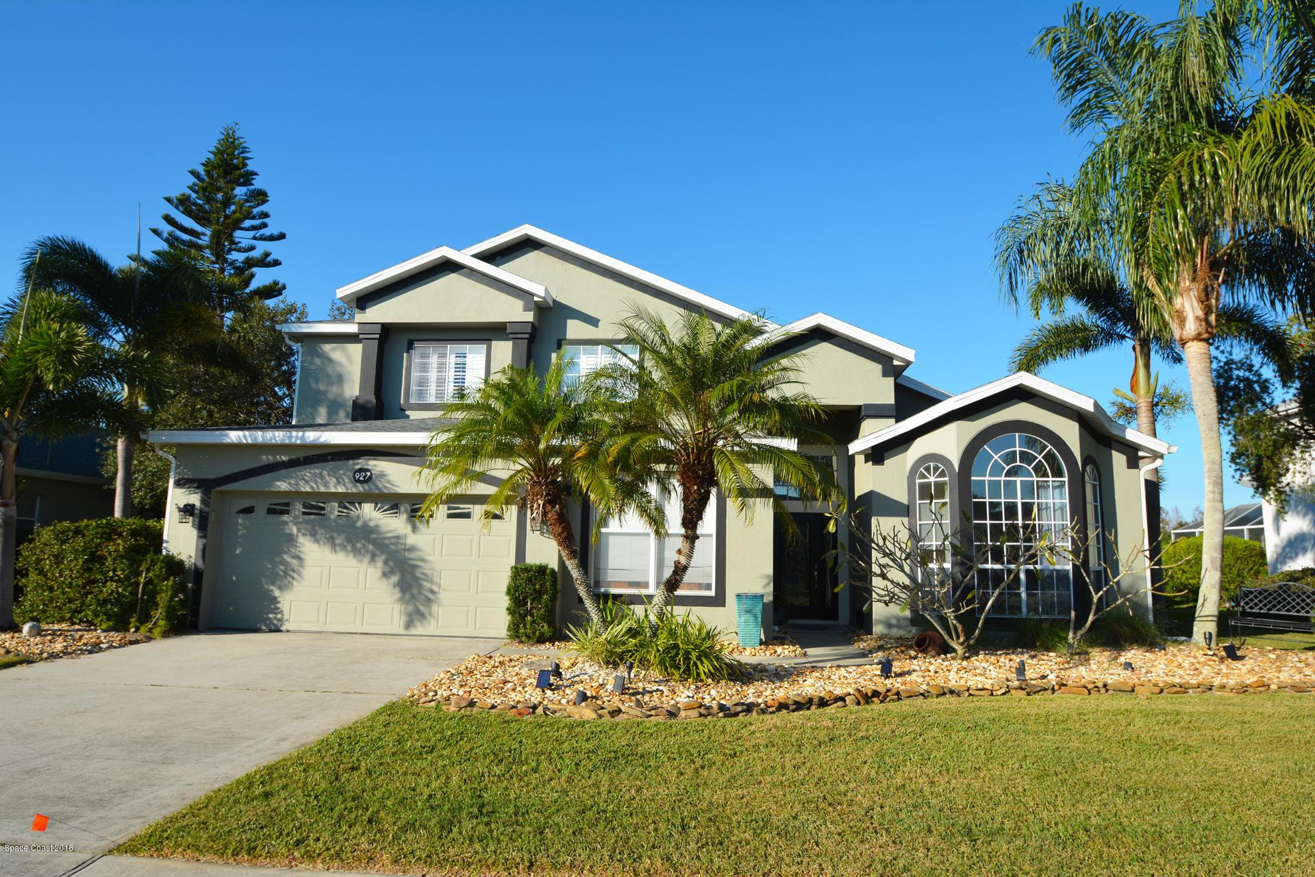 Single Family Home for Sale at 927 Fostoria 927 Fostoria Melbourne, Florida 32940 United States