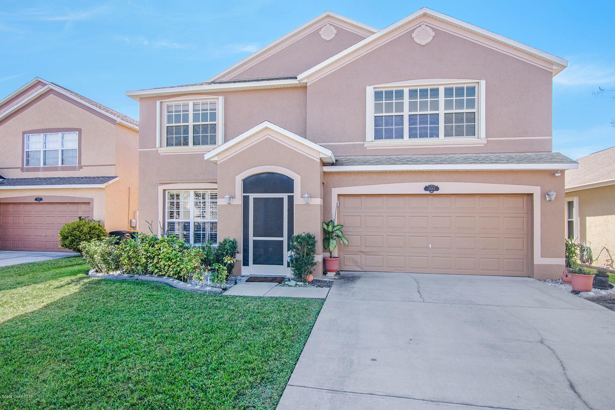 獨棟家庭住宅 為 出售 在 2483 Glasbern 2483 Glasbern West Melbourne, 佛羅里達州 32904 美國