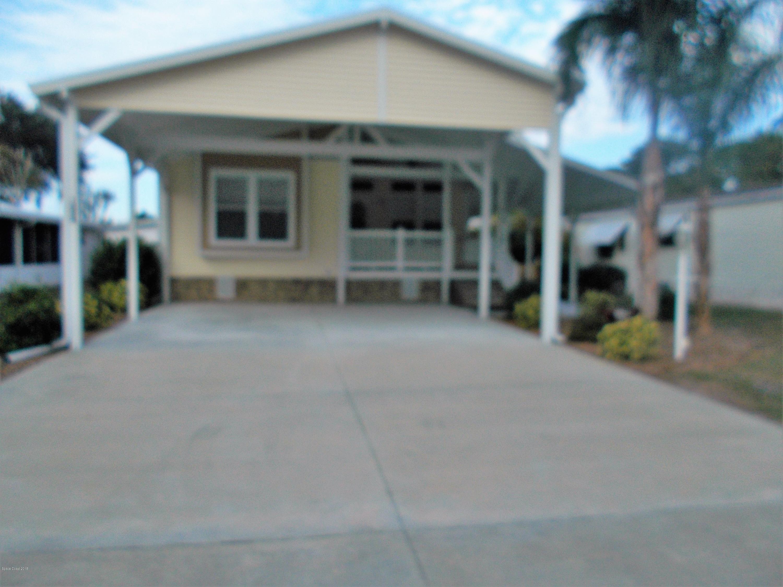 Single Family Home for Sale at 1054 Sebastian 1054 Sebastian Barefoot Bay, Florida 32976 United States