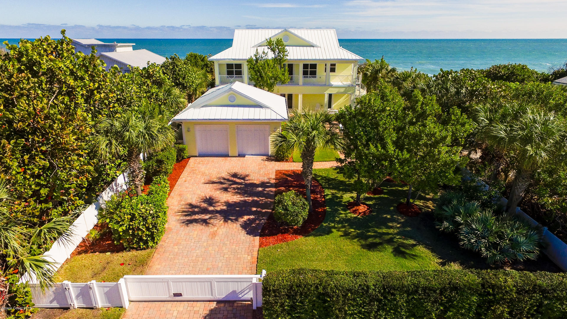 Single Family Homes for Sale at 6701 Highway A1a Melbourne Beach, Florida 32951 United States