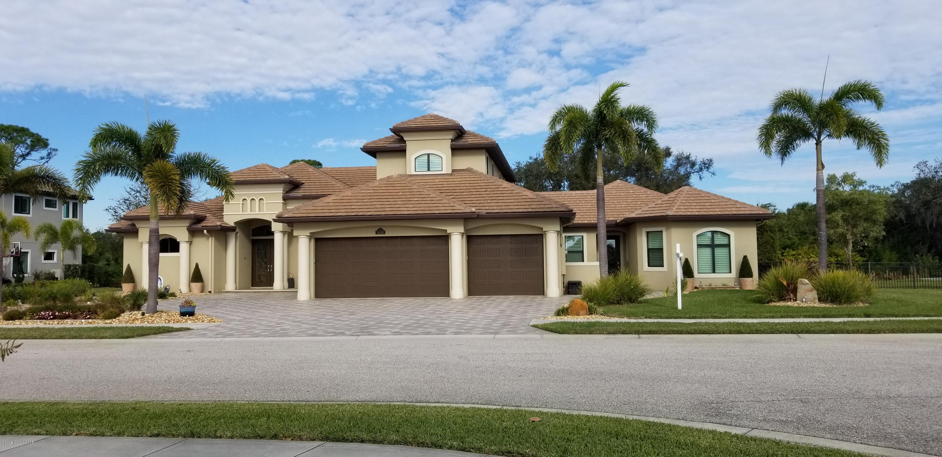 Single Family Homes for Sale at 5038 Duson Rockledge, Florida 32955 United States