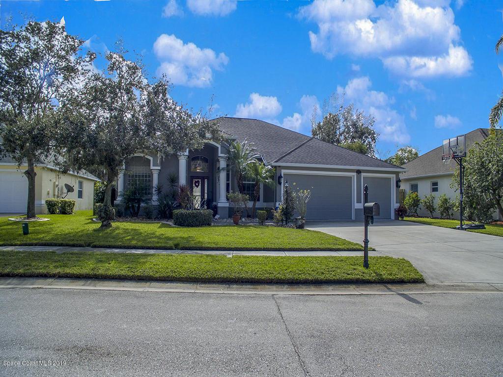 獨棟家庭住宅 為 出售 在 2473 Woodfield 2473 Woodfield West Melbourne, 佛羅里達州 32904 美國