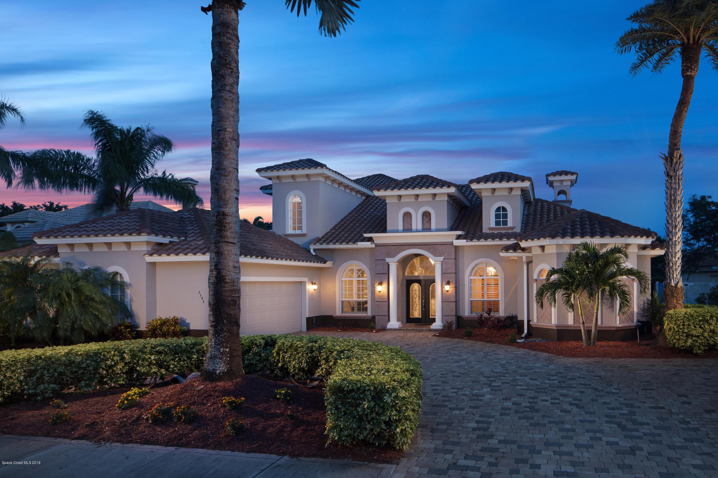 Single Family Home for Sale at 3397 Cappio 3397 Cappio Melbourne, Florida 32940 United States