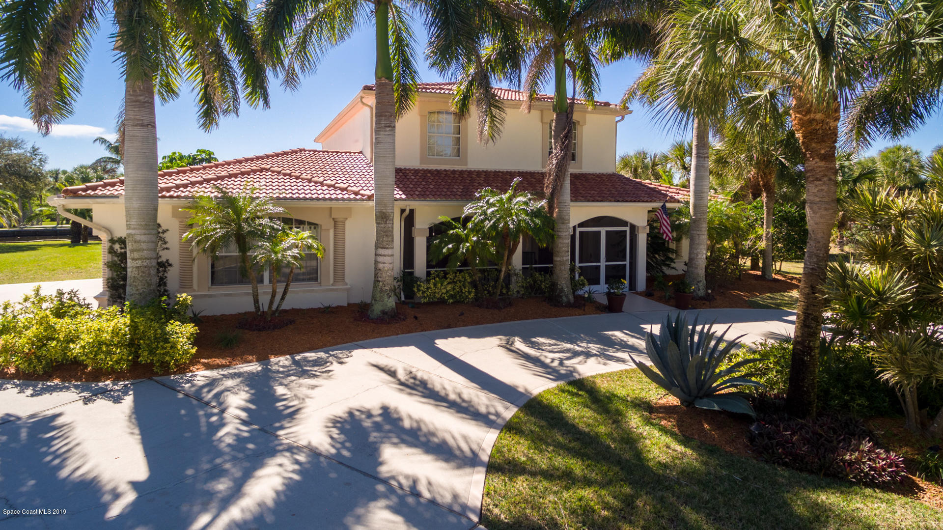 Single Family Homes for Sale at 201 Crystal Bay Melbourne Beach, Florida 32951 United States