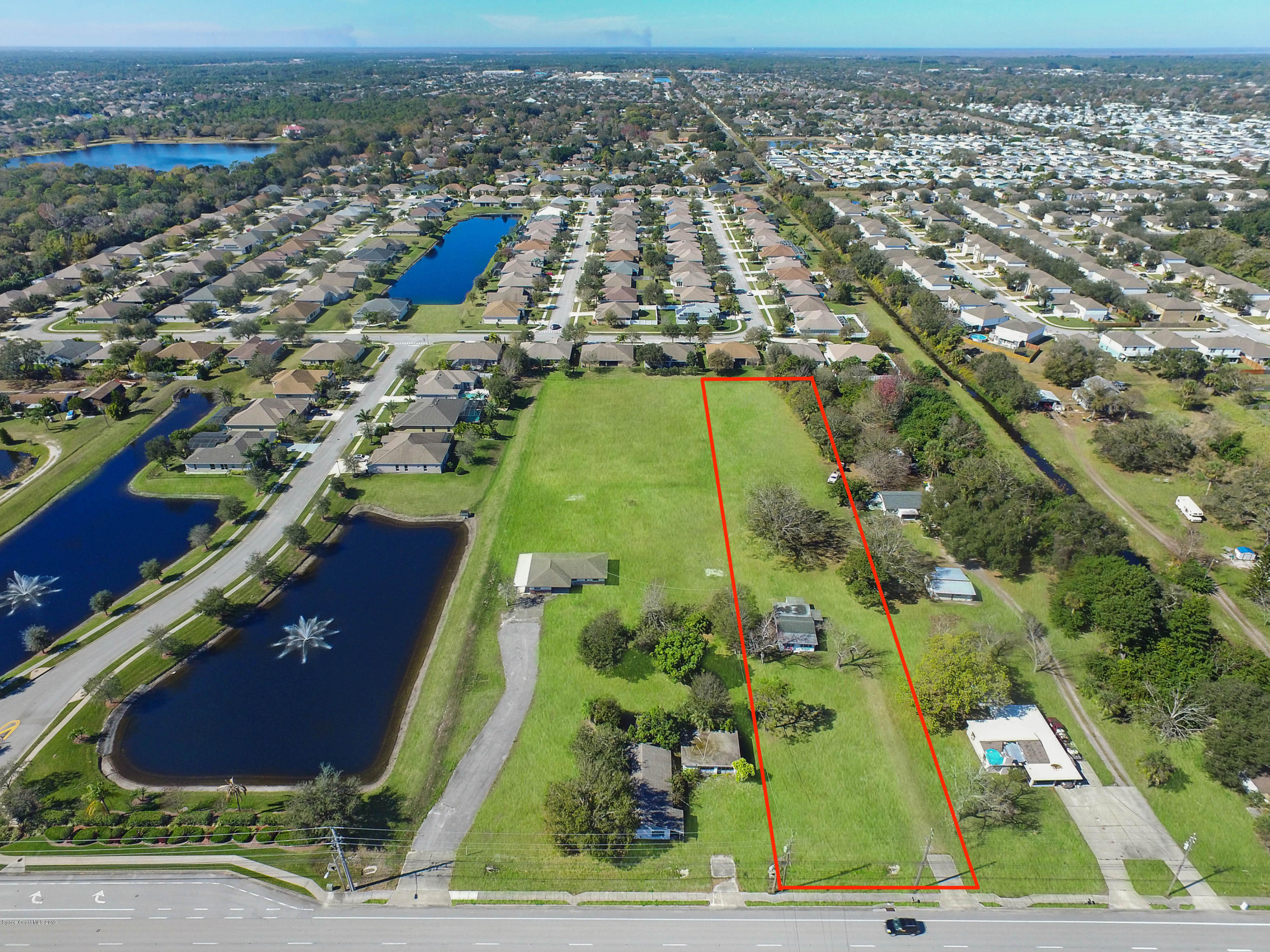 Single Family Homes for Sale at 3050-Res Dairy Melbourne, Florida 32904 United States