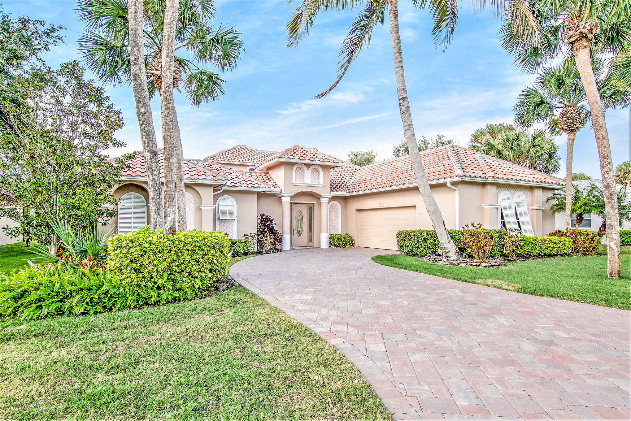 Single Family Homes for Sale at 380 Hammock Shore Melbourne Beach, Florida 32951 United States