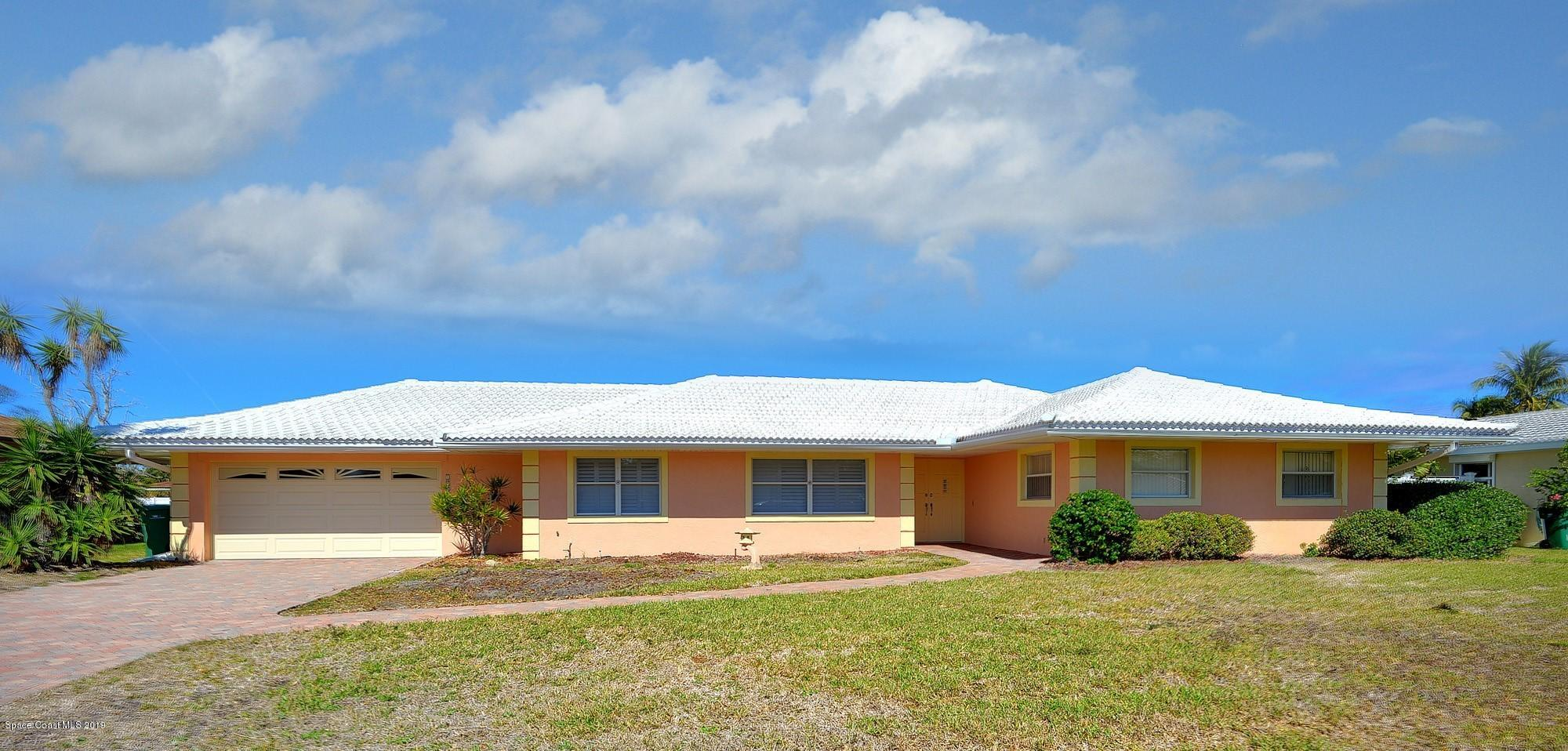 Single Family Home for Sale at 1956 Shore View 1956 Shore View Indialantic, Florida 32903 United States