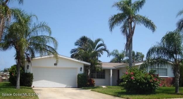 Single Family Home for Sale at 423 Aruba 423 Aruba Satellite Beach, Florida 32937 United States