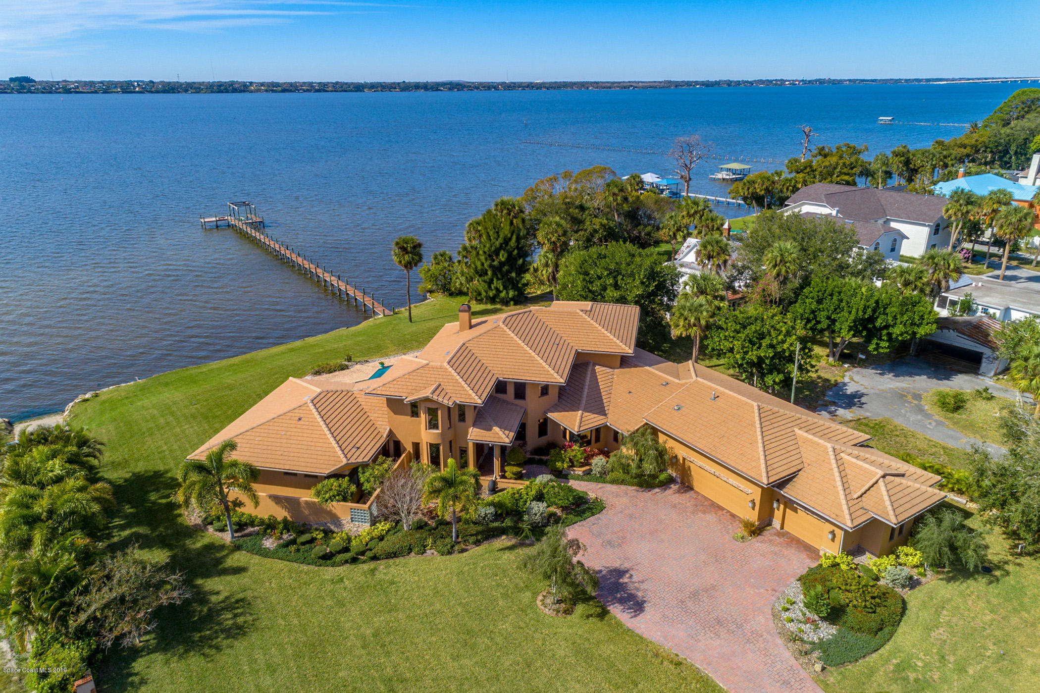 Single Family Homes for Sale at 500 Snug Harbor Merritt Island, Florida 32953 United States