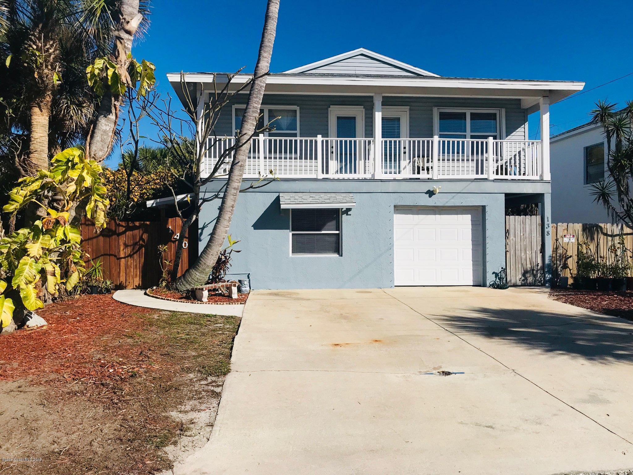 Enfamiljshus för Hyra vid 140 26th 140 26th Cocoa Beach, Florida 32931 Förenta staterna