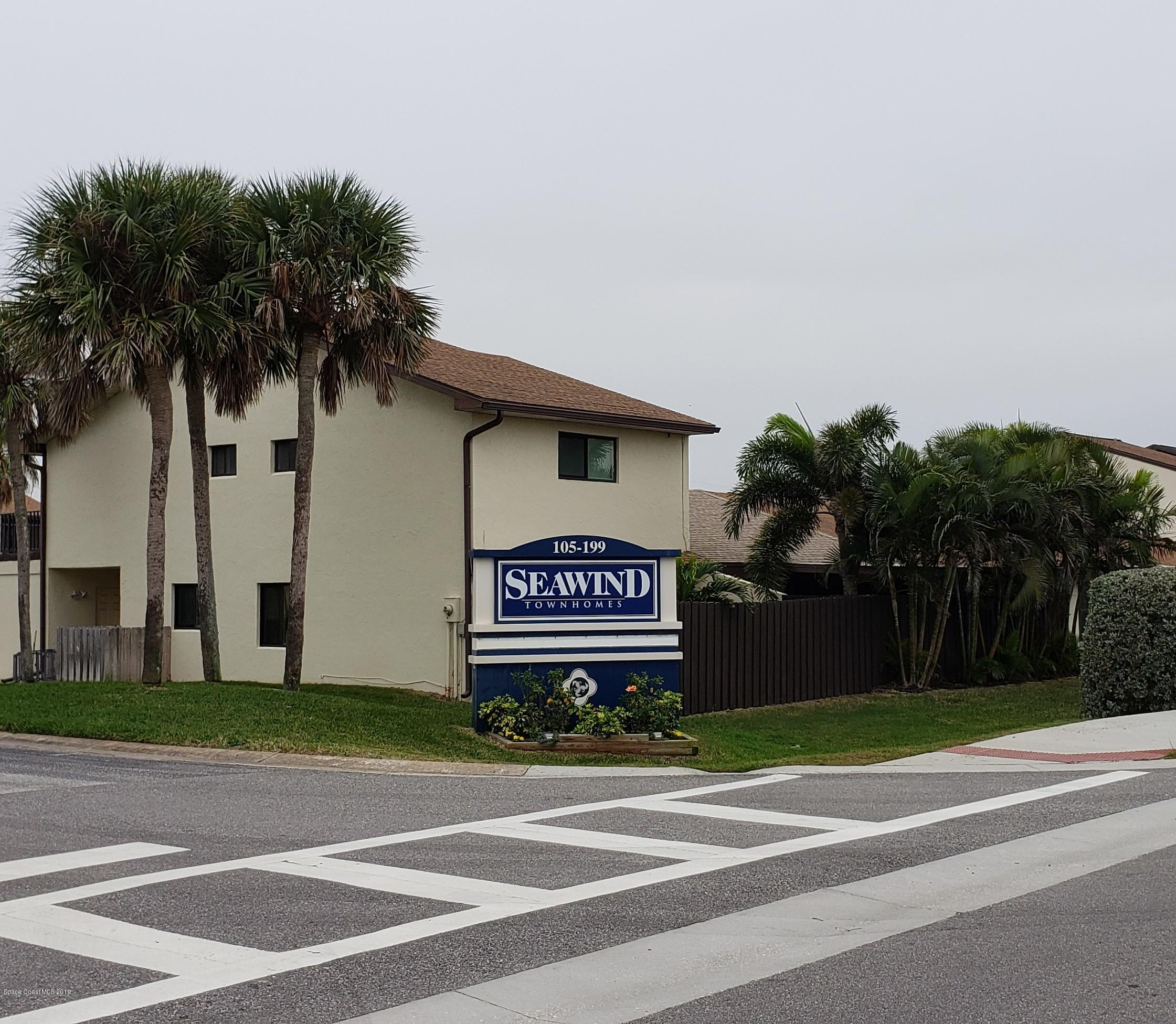 Single Family Home for Rent at 175 Seawind 175 Seawind Satellite Beach, Florida 32937 United States