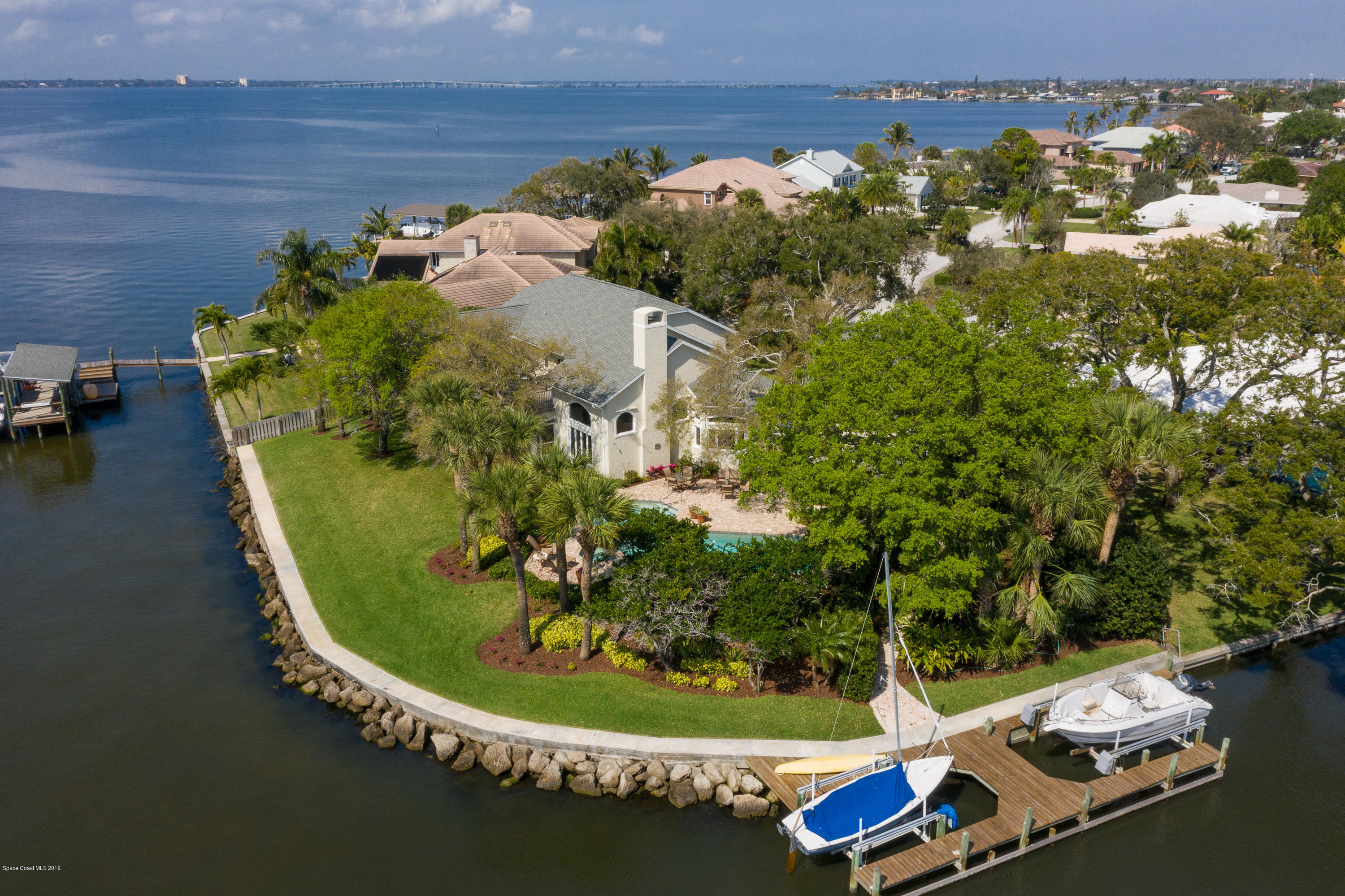 Single Family Home for Sale at 1845 River Shore 1845 River Shore Indialantic, Florida 32903 United States