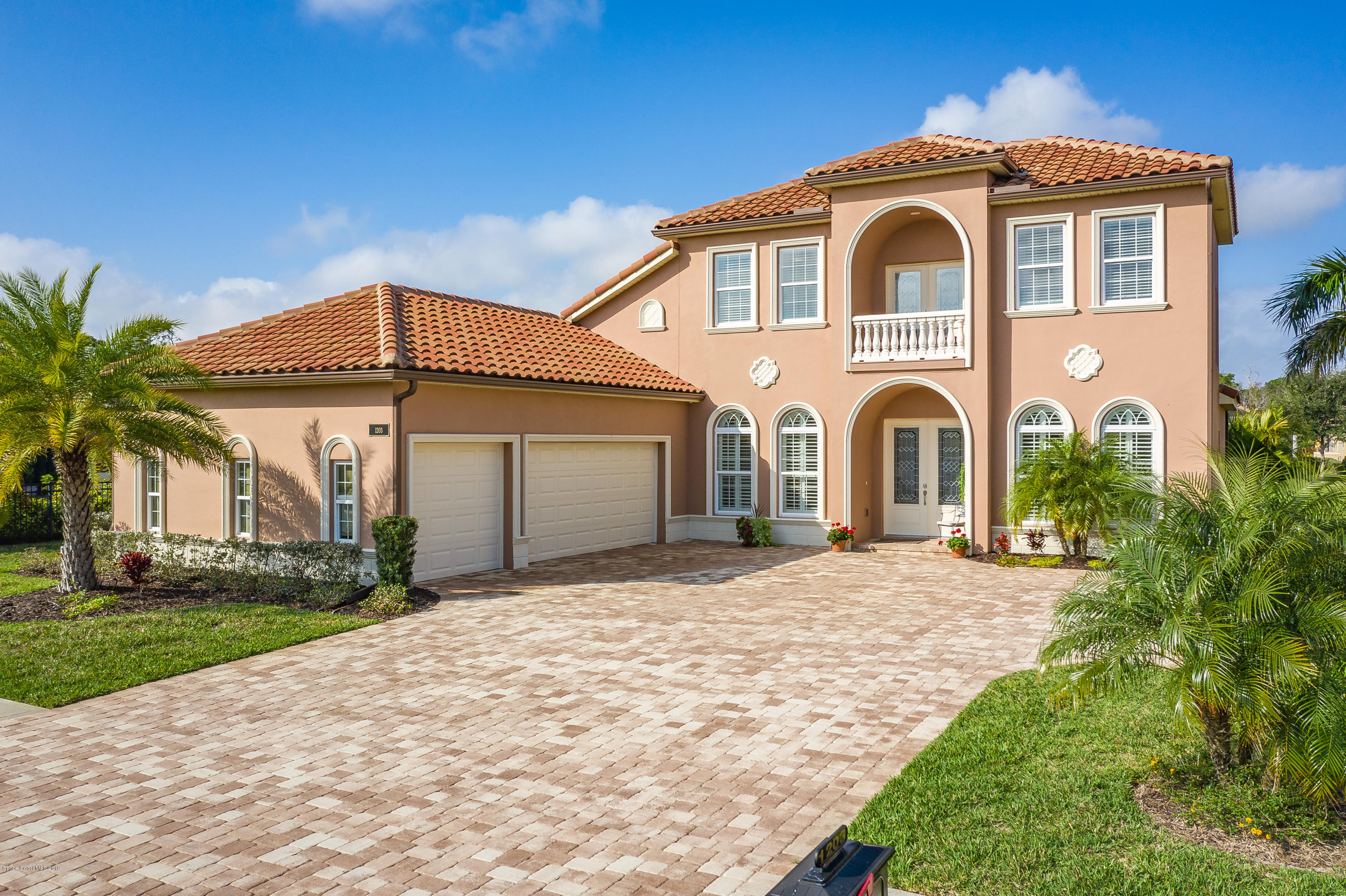 Single Family Home for Sale at 1203 Tralee Bay 1203 Tralee Bay Melbourne, Florida 32940 United States