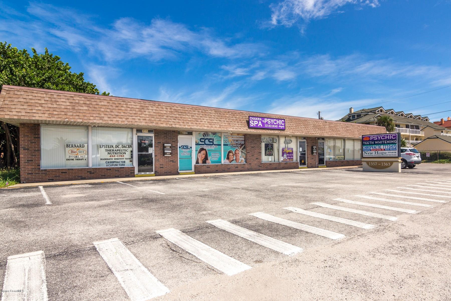 Commercial for Rent at 1361 Highway A1a Satellite Beach, Florida 32937 United States