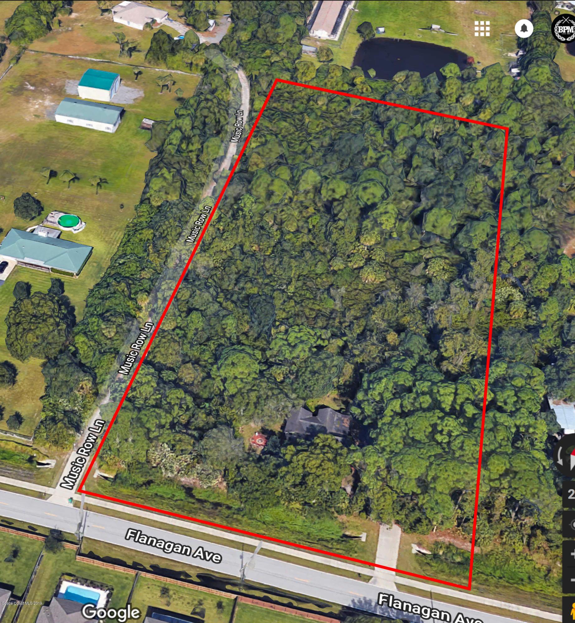 Đất đai vì Bán tại 3150 E Flanagan West Melbourne, Florida 32904 Hoa Kỳ