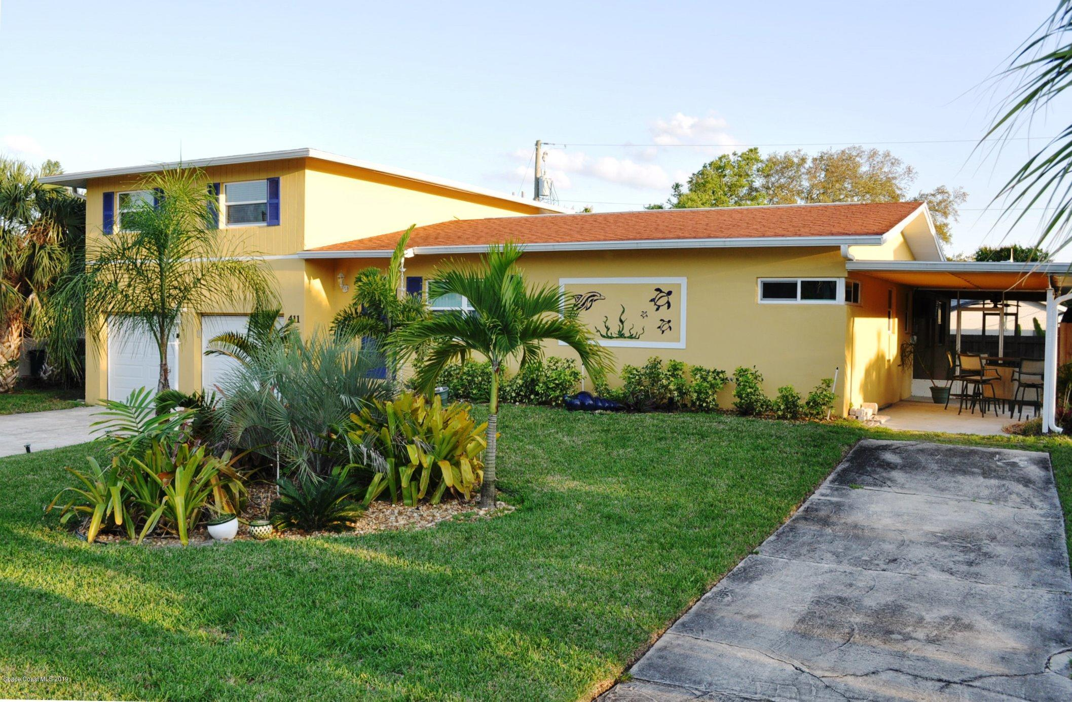 Single Family Home for Sale at 411 9th 411 9th Indialantic, Florida 32903 United States
