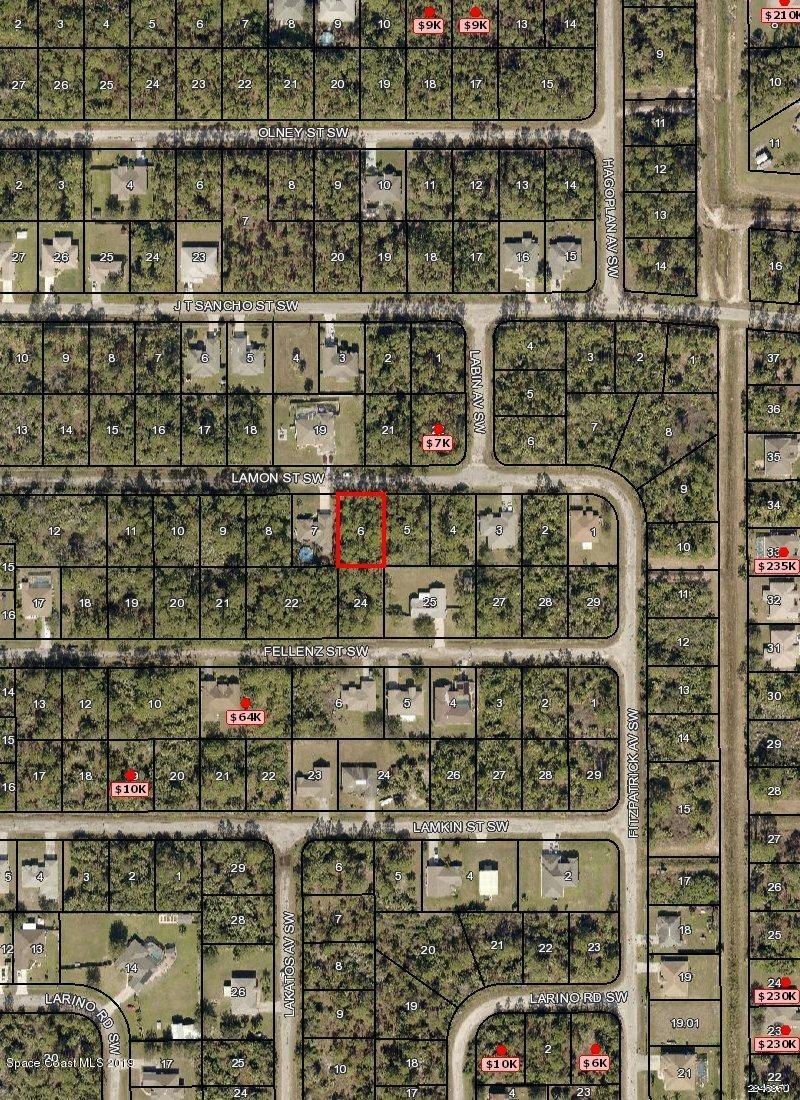 Land for Sale at 434 Lamon Palm Bay, Florida 32908 United States