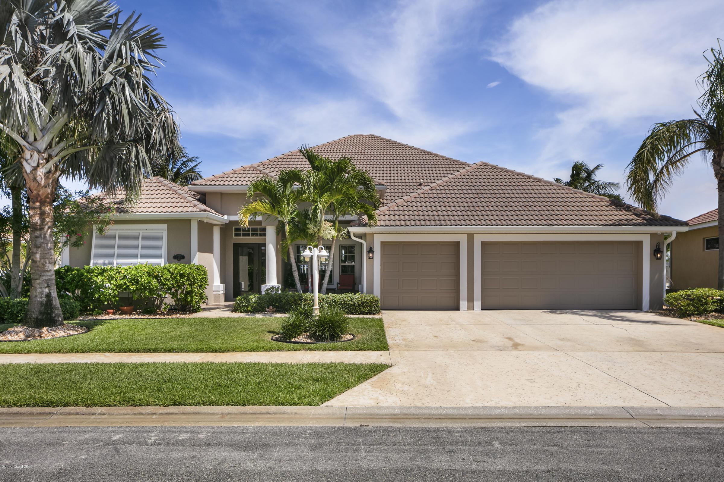 Single Family Home for Sale at 3399 Poseidon 3399 Poseidon Melbourne, Florida 32903 United States
