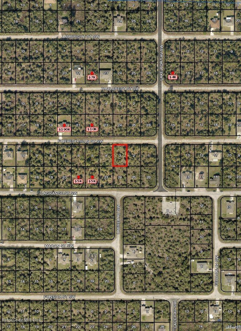 Land for Sale at 518 Forrest Hills Palm Bay, Florida 32908 United States