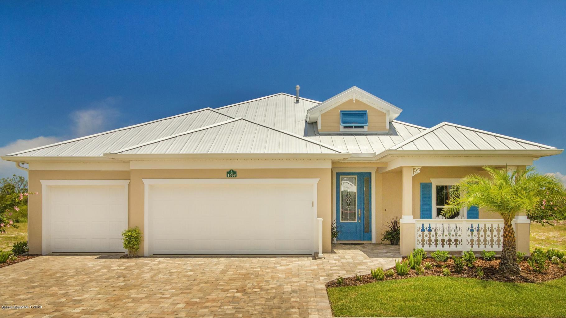 Single Family Homes for Sale at 1659 Tullagee Melbourne, Florida 32940 United States