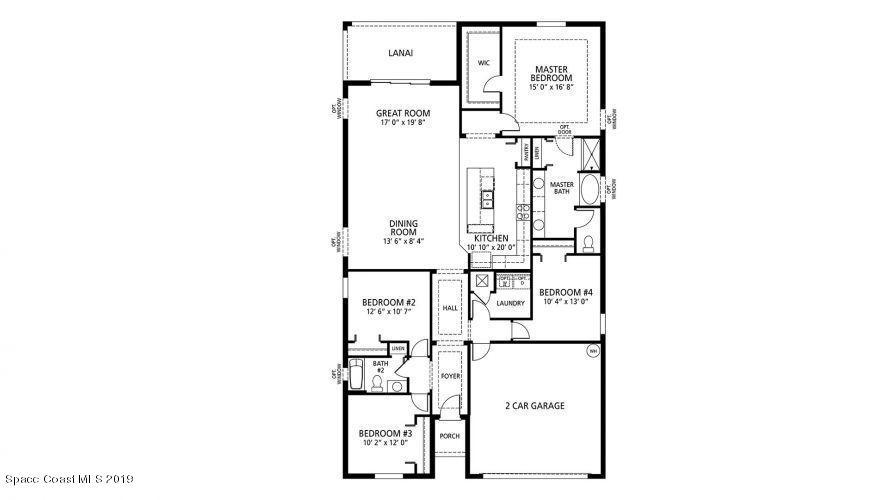 Additional photo for property listing at 1477 Talavera 1477 Talavera Palm Bay, Florida 32909 United States