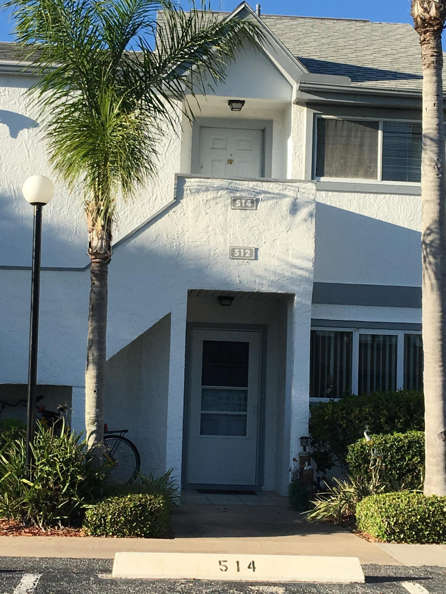 Single Family Home for Rent at 514 Beach Park 514 Beach Park Cape Canaveral, Florida 32920 United States