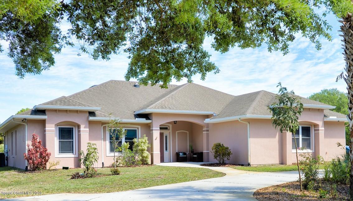 Enfamiljshus för Försäljning vid 5400 Cangro 5400 Cangro Cocoa, Florida 32926 Förenta staterna