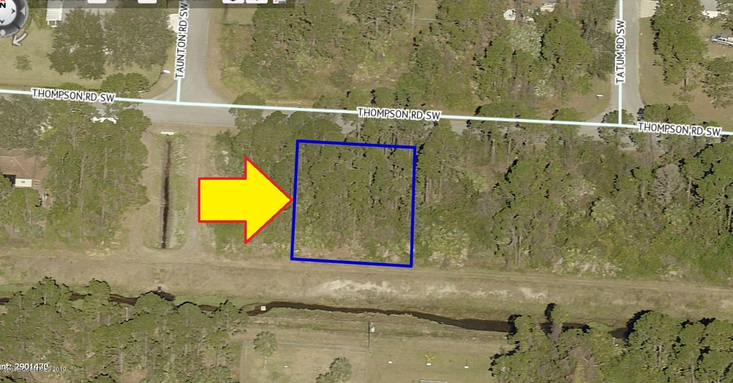Land for Sale at 1060 Thompson Palm Bay, Florida 32908 United States